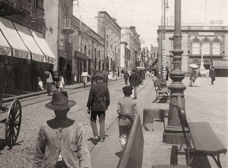 Plaza la Candelaria, Calle del Castillo, posterior 1901