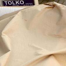 sand beige Baumwolle Stoff für Hose Jacke Rock Gardine DEKOSTOFF Meterware TOP