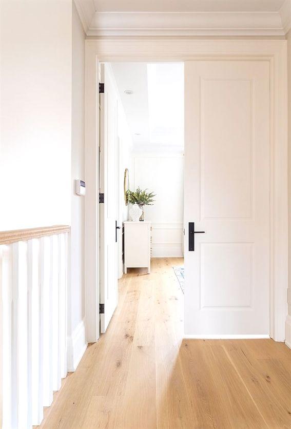 Light White Oak Hardwood Floors European Unstained Sanded On Site Finished With A Clear Coat Made By Loba Lightwhiteoak Lighthardwoodfloors