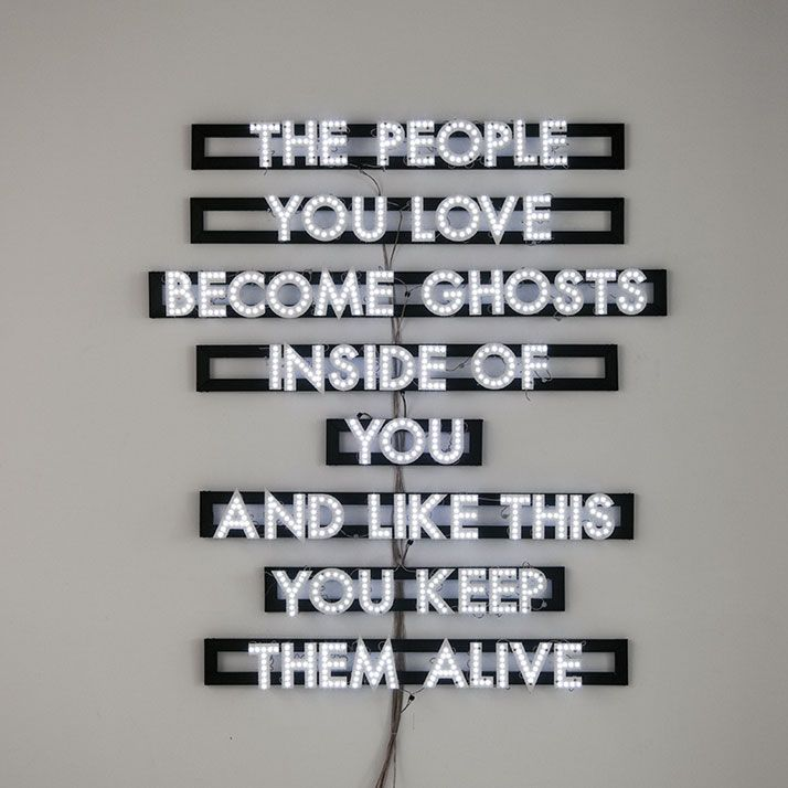 Luminous Poetry and Other Confessions by Robert Montgomery | http://www.yatzer.com/robert-montgomery-istanbul74