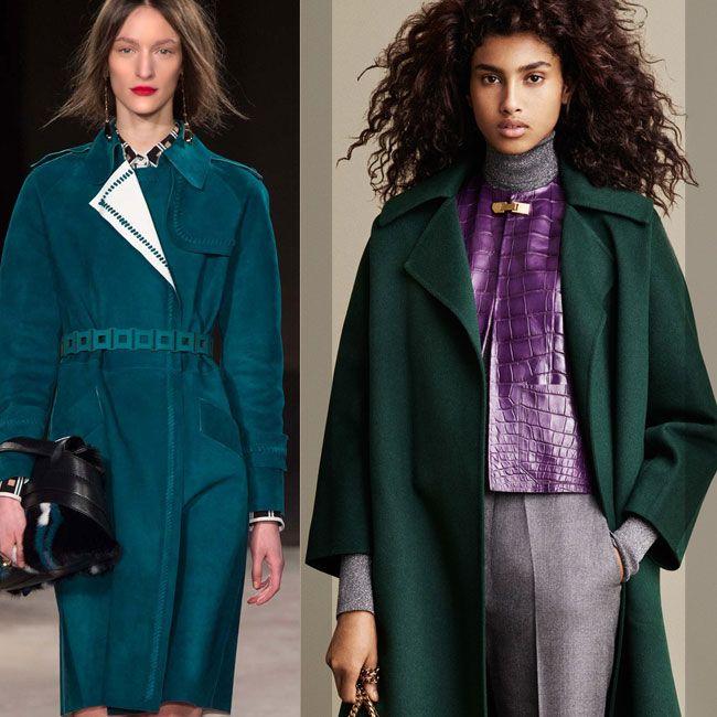 зеленое пальто 2016