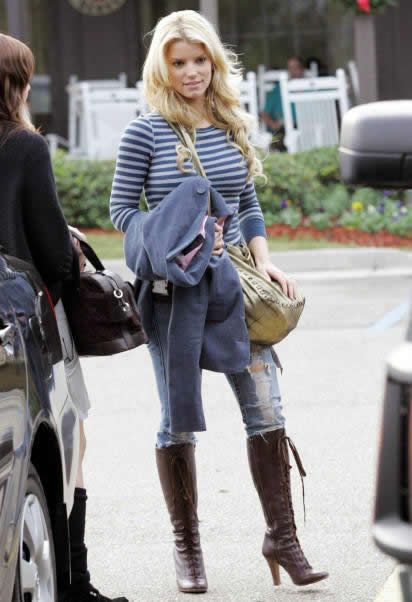 Winter Outfit: Jessica Simpson