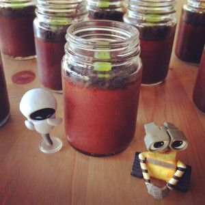 WALL-E Pudding Cups