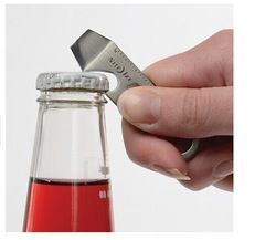Online Shop Keychain EDC gadget equipped with mini portable pocket utility stainless steel bottle opener
