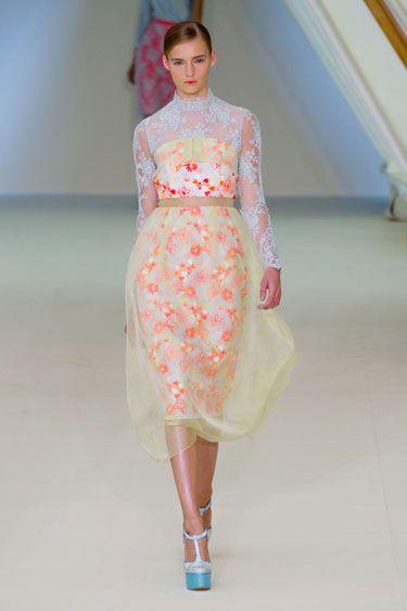 Erdem London Fashion Week Spring 2013 Runway Looks - Best Spring 2013 Runway Fashion - Harper's BAZAAR