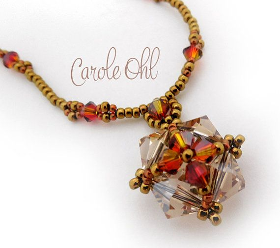 Collana di cristallo Quadrangle orecchini o bracciale di openseed