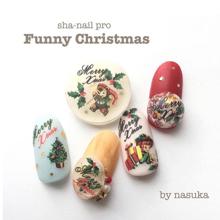 . 写ネイルは廃盤商品がありません‼︎ . ご注文いただければ過去商品も購入可能です◡̈ . 今日作ったこのチップに使用している写ネイルは、なんと1番古い写ネイルのクリスマスのシートなんです♥︎ . . ヴィンテージ感が可愛いくて使いたかったので引っ張りだしてきましたw . レジンパーツに入れるのもオススメ♥︎ . 使用写ネイル sha-nail pro ファニークリスマス . . #gel #gelnail #nail #nailart #ジェル #ジェルネイル #ネイル #ネイルアート#ネイルデザイン #セルフ #セルフネイル #指甲彩绘#指甲#指甲美容沙龙#凝胶指甲#美甲#ネイルチップ#ネイルシール#네일아트#네일#샤네일 #ネイルサンプル#レジンアクセサリー #冬ネイル #クリスマスネイル  #christmasnails #クリスマスオーナメント #christmasart #写ネイル #shanail