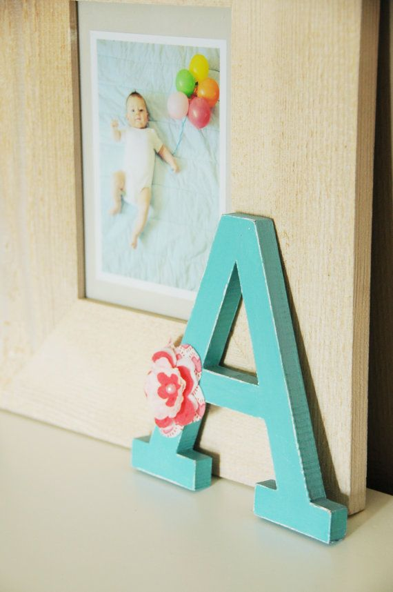 Free standing wooden letter mdf letter 15cm/6 by LoudFairyNL