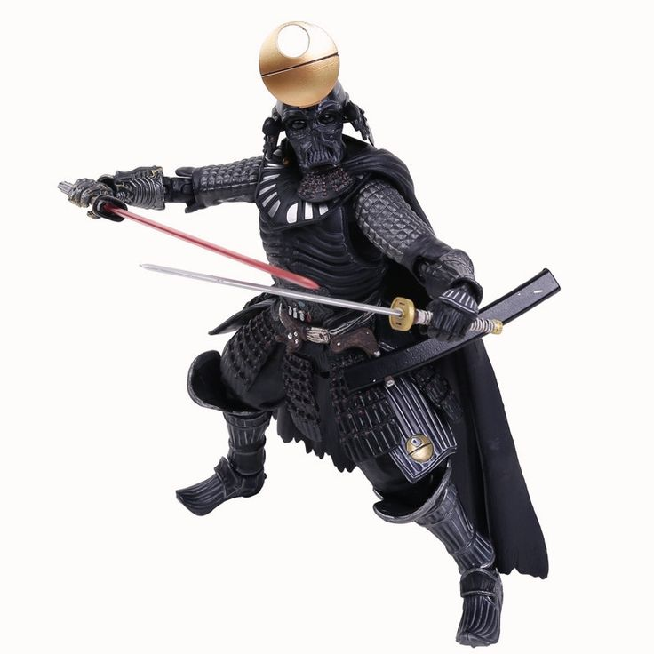 "29.00$  Watch here  - ""Star Wars Samurai Taisho Darth Vader Armor PVC Action Figure Collectible Toy 8"""" 20cm Retail Box WU429"""