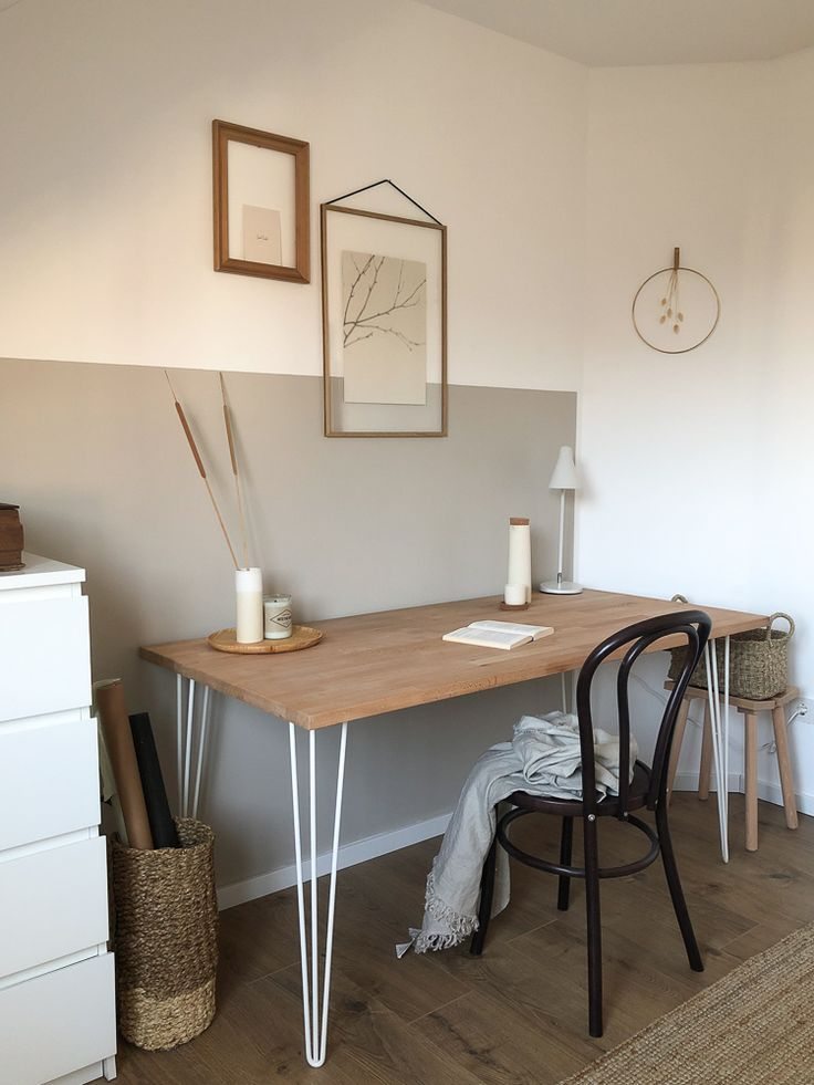 Gästezimmer Makeover - Schreibtisch 2