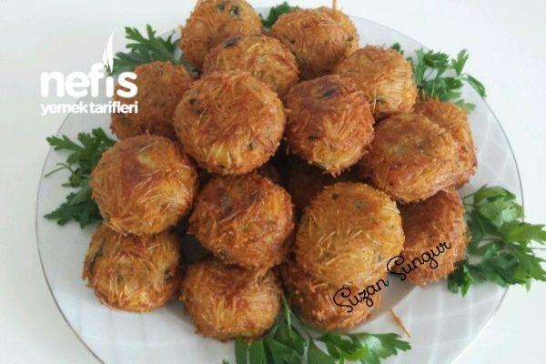 Tel Şehriyeli Patates Topları