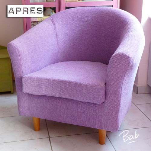 cr u00e9er une housse du fauteuil ikea tullsta avec son tissu