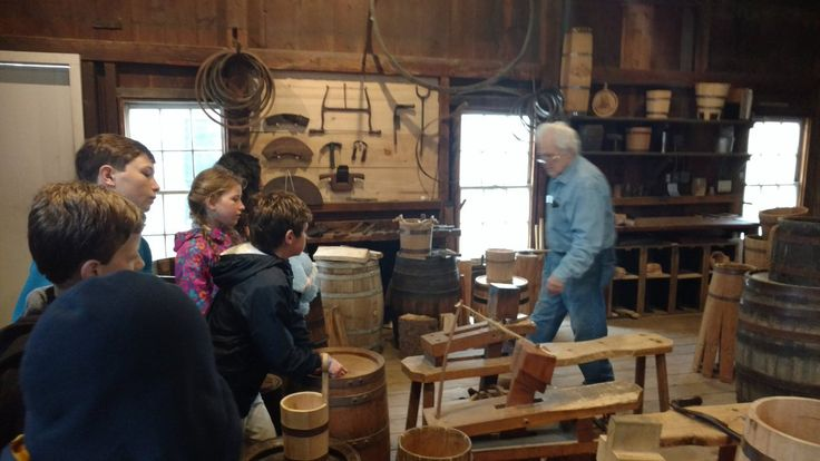 "Ms. Berg's Class on Twitter: ""Learning how to make a barrel in the cooperage! https://t.co/HLY7f8rcRR"""