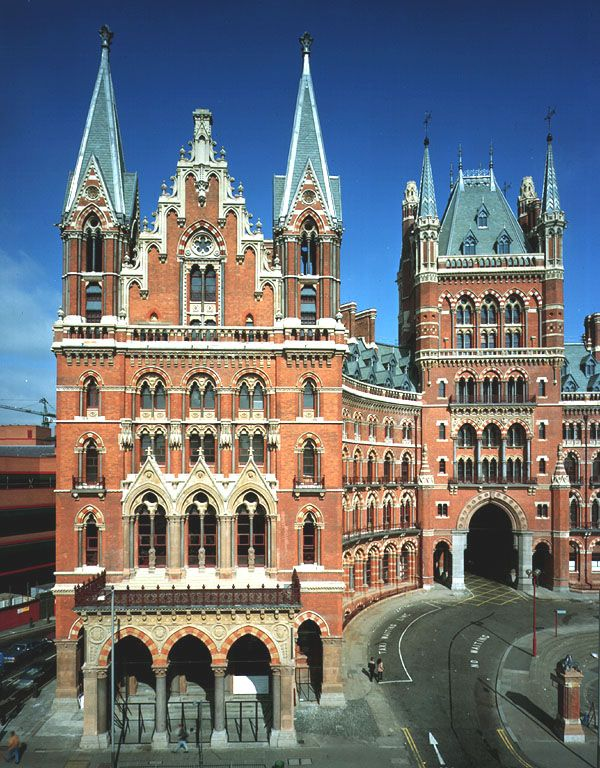 "U.K. St. Pancras Station in London, is described as ""the world's most wonderful railway station,"" and it's the main terminus for high-speed rail links to Paris and the rest of Europe."