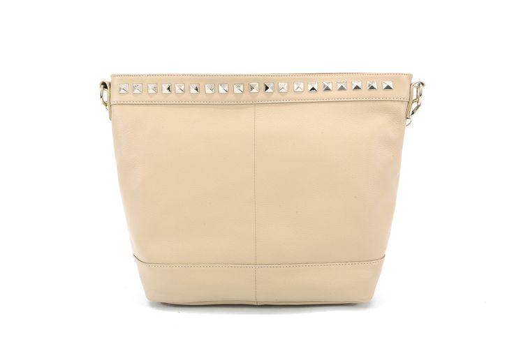 Genuine Baggage - Pink Corporation top leather handbag in style Elise Tan, $99.95 (http://www.genuinebaggage.com.au/pink-corporation-top-leather-handbag-in-style-elise-tan/)