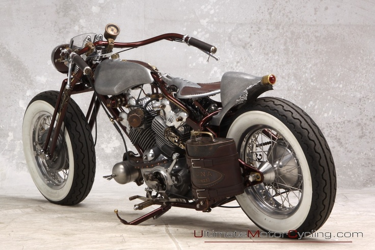 old school bobber. Amazing attention to detail.