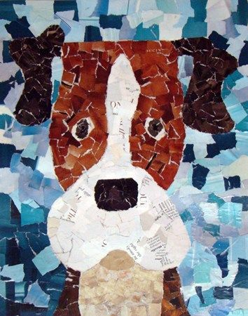 Magazine dog: Collage Art, Art Museums, Art Idea, Collage Dogs, Magazines Dogs, Dogs Art, Artsonia Art, Kids Art, Paper Collage