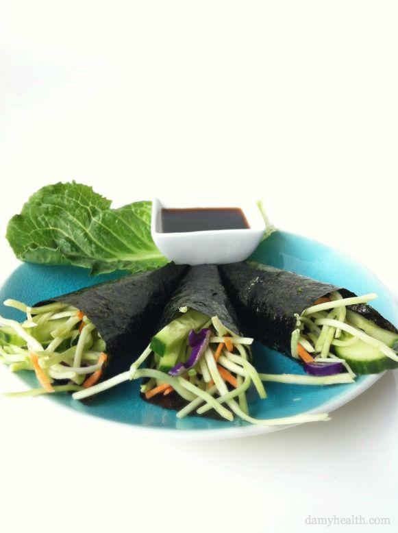 Vegetable Seaweed Wrap