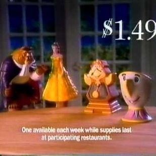 Because it was the one time of year they released puppets at fast food restaurants. | 32 Reasons Why Christmas Was Better In The '90s