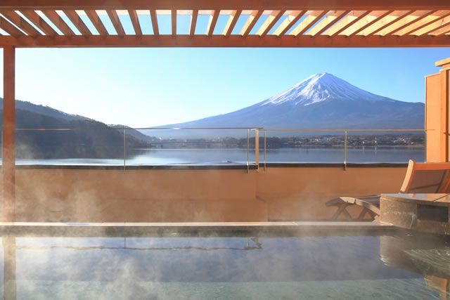 Mt Fuji & Open  air Onsen
