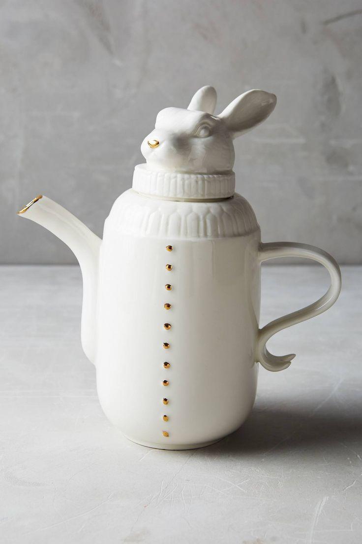 Wild Masquerade Tea Pot - anthropologie.com | Woodland ...