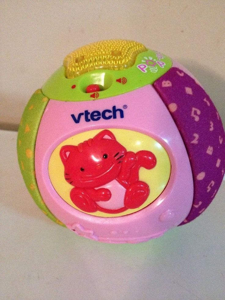 Vtech Pop Up Surprise Ball - see how it works b4 buying - check out YouTube link - https://youtu.be/t9-0bUzVXbQ then buy on eBay via website link