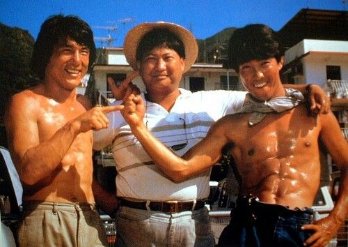 Jackie Chan, Sammo Hung and Yuen Biao