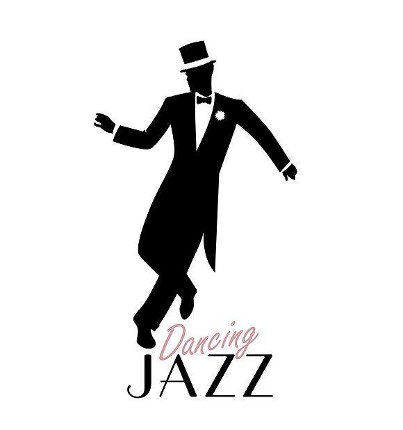 Elegant man dancing Jazz II by La Inspiratriz on @creativemarket