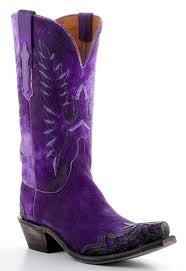 My daughter has these awesome Lucchesse purple cowboy boots!