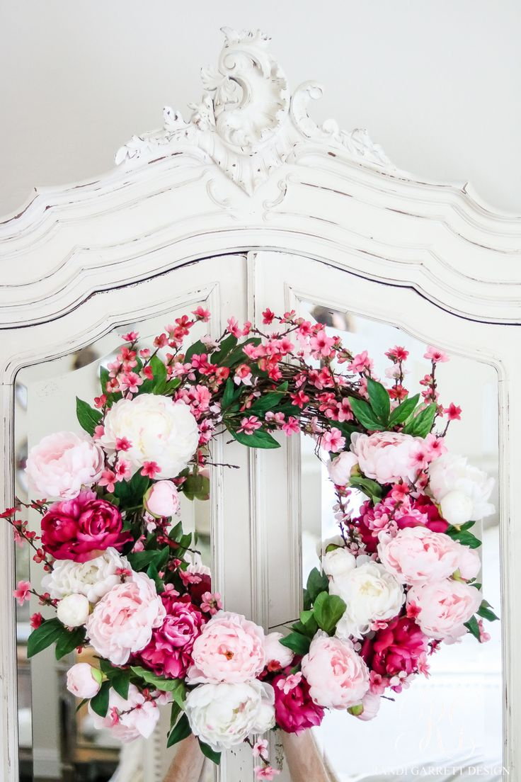 220 Best Interior Design Ideas Images On Pinterest Crowns Front Sakura Moth Hanger 160 Gr How To Make A Beautiful Peony And Cherry Blossom Spring Wreath