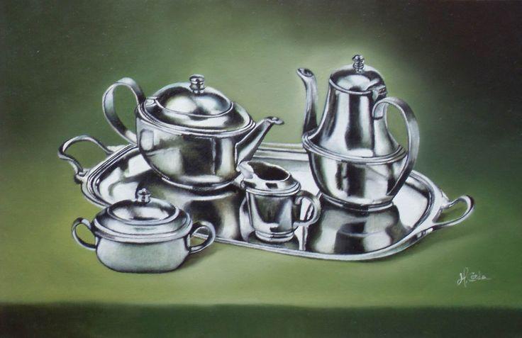 Still life N 210, Oil Painting, 40x24 cm, 2009