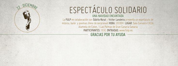 Concierto Solidario de @Fundacion_FULP ¡participa! #GranCanaria #LPGC http://www.fulp.es/eventos_solidarios?cod_evento=22