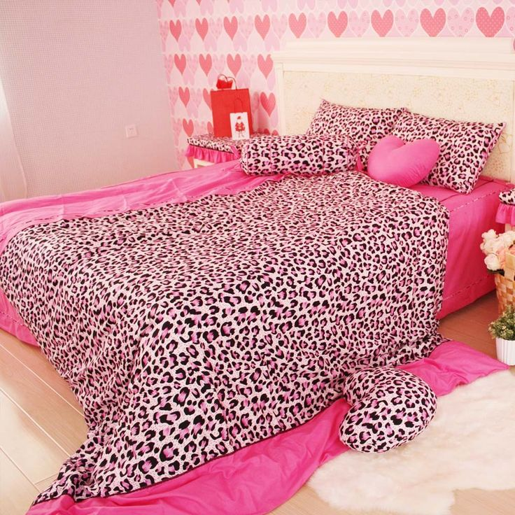 17 best ideas about pink bed sheets on pinterest pink bedding grey bed sheets and bed sheets - Cheetah bedspreads ...