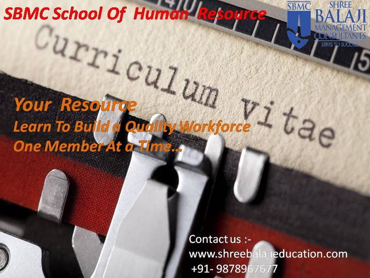 Learn for #Value not for #Success. Enroll for our #certified Human #Professional course in #SBMC School of Human Resource. #HR www.shreebalajieducation.com www.sbmc.co.in 9878967677