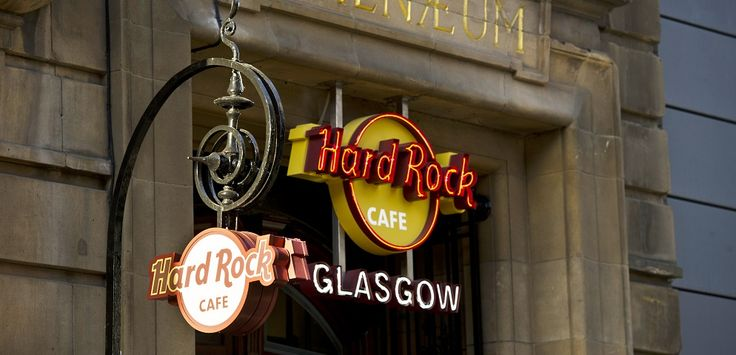 Blending the city's historic feel with the energy and vibe of the Hard Rock brand, Hard Rock Cafe Glasgow is housed in the City's 'Style Mile' at 179 Buchanan Street in the restored, renaissance-inspired, 1891 Athenaeum Theatre.