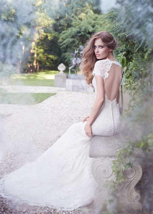 Bridal Gowns, Wedding Dresses by Alvina Valenta - Style AV9358