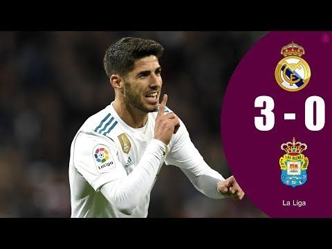 Real Madrid vs Las Palmas 3-0 All Goals 05/11/2017 HD 1080i  🔔Turn Notifications on and you will never miss a video again❗ Follow us:👇 🐦Twitter: https://twitter.com/MadridistaTV1 👍Facebook: https://www.facebook.com/MadridistaTV1 ❌YouTube: https://www.youtube.com/user/elmadridistatv 📸Instagram: ht...