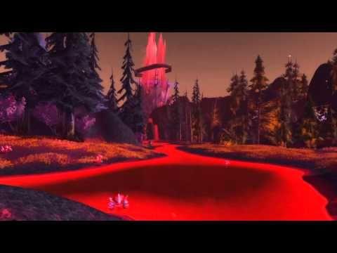 Relaxing World of Warcraft scenery - Bloodmyst Isle