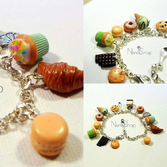 tiny food bracelet