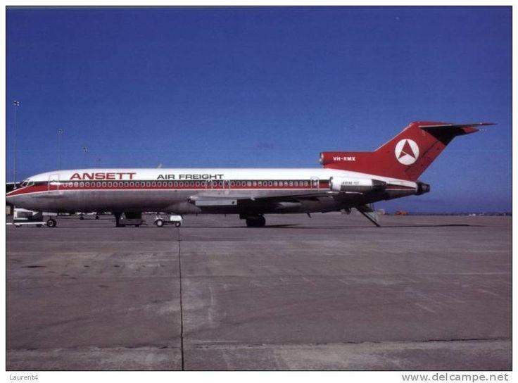 (avi -41) - Avion - Airplane - B 727-277 - ANSETT Air Freight - 1946-....: Ere Moderne