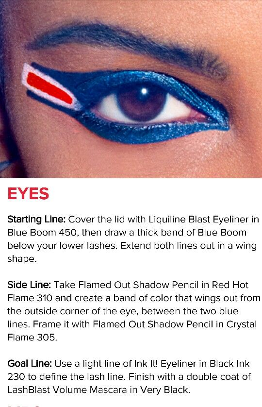 CoverGirl Buffalo Bills Makeup for Game Day!