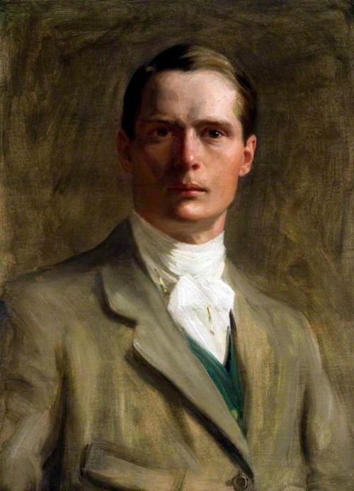 Self portrait, Brian Hatton, British artist, killed in action during WWI, 1887-1916
