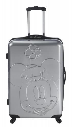 Heys USA Luggage Disney Embossed Faces 30 Inch Minnie Hardside Spinner - See More Hardside Luggage at http://www.zbuys.com/level.php?node=7228=hardside-luggage