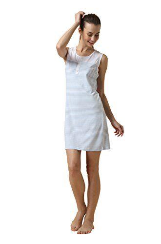 Suntasty Women's Summer Cotton Lingerie Sleep Shirts Sleepwear Robes Nightgown (White,XL,1005W) - http://best-women-shop.xyz/2016/06/20/suntasty-womens-summer-cotton-lingerie-sleep-shirts-sleepwear-robes-nightgown-whitexl1005w/