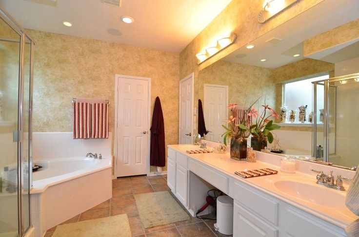 master bathroom garden tub - Google Search