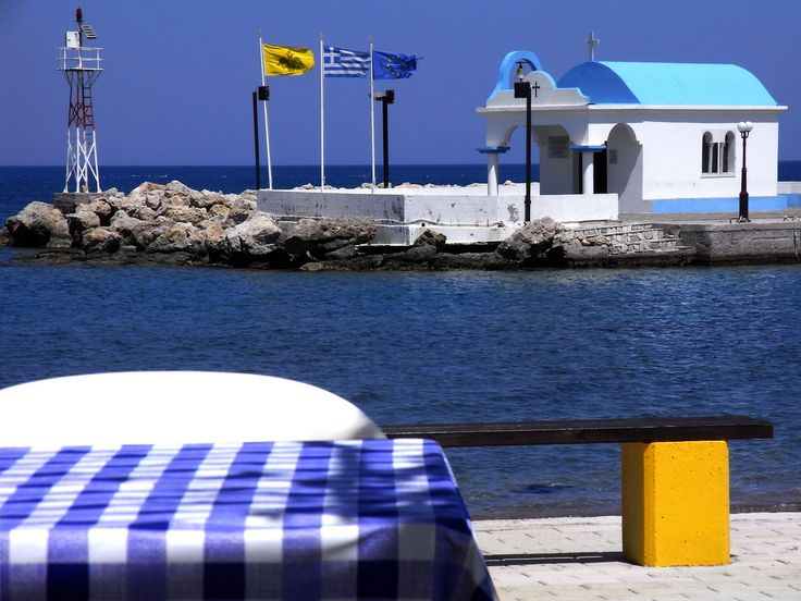 Agioi Apostoloi Church, Faliraki, Rhodes island, Dodecanese, Greece by Marite2007