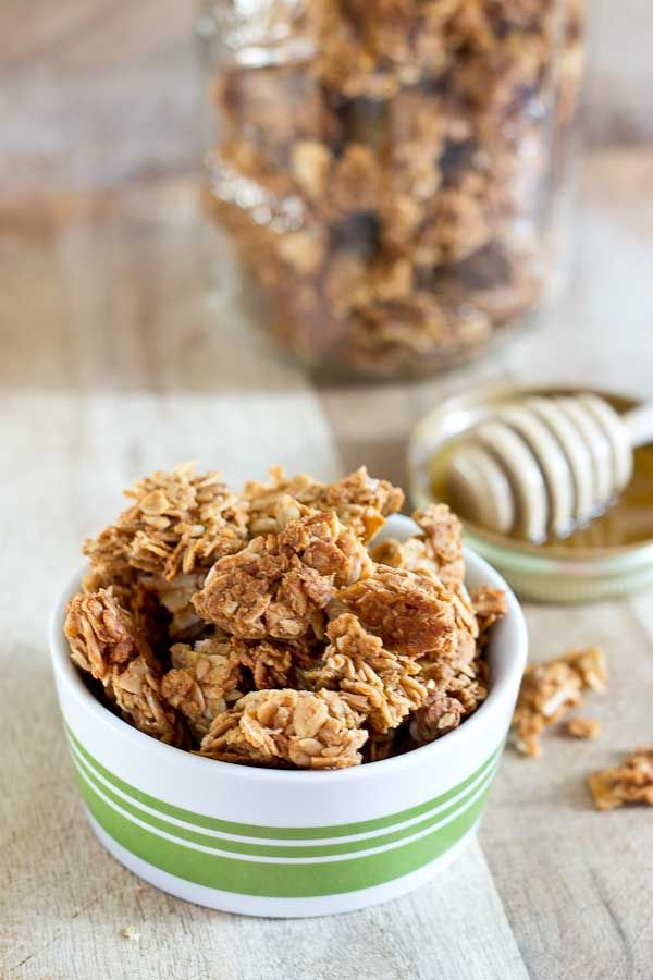 how to make granola clusters vegan