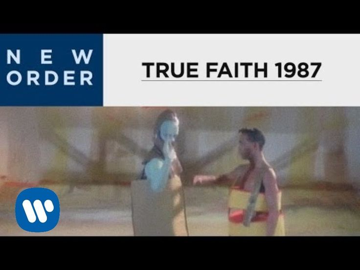 """New Order - True Faith (1987) Lovely, poppy New Order classic. One of those songs where you think you don't know it, then quickly realise """"Oh it's THAT one! Yes I know that"""""""