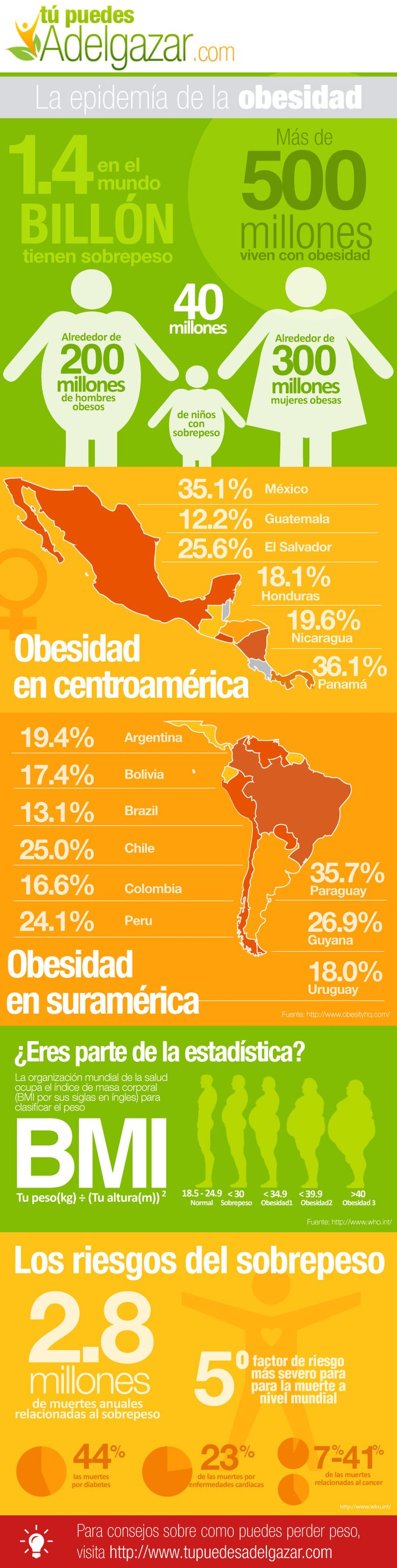 Obesity epidemics | Visit our new infographic gallery at visualoop.com/