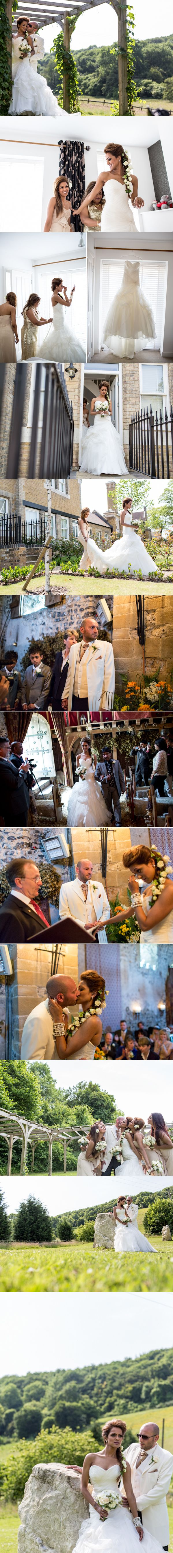 Countryside Kent Village Indian & English Fused Civil Ceremony by AIYA Photography